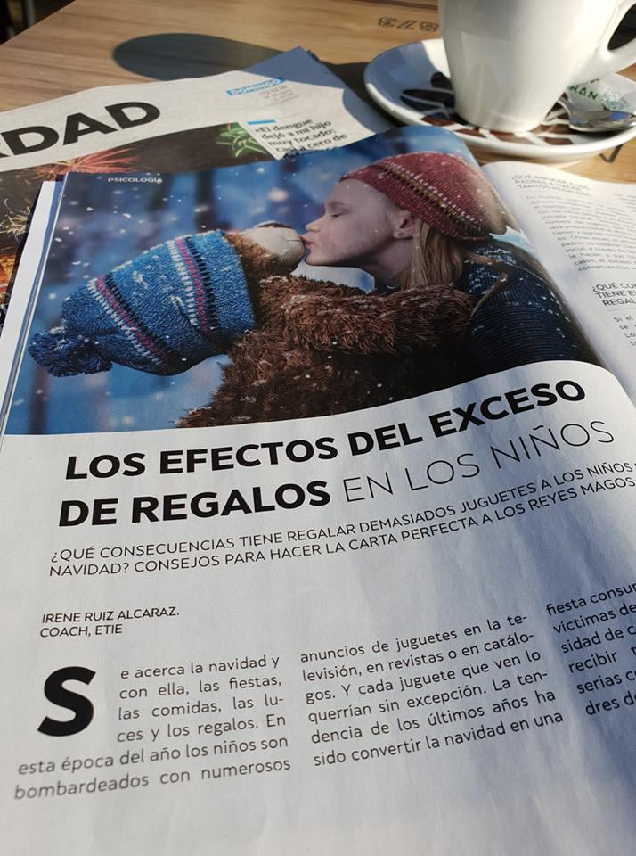 EL EFECTO DEL EXCESO DE REGALOS EN LOS NIÑOS